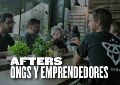 Afters ONGs y Emprendedores
